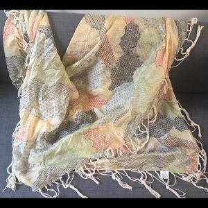 Anthropologie silk scarf